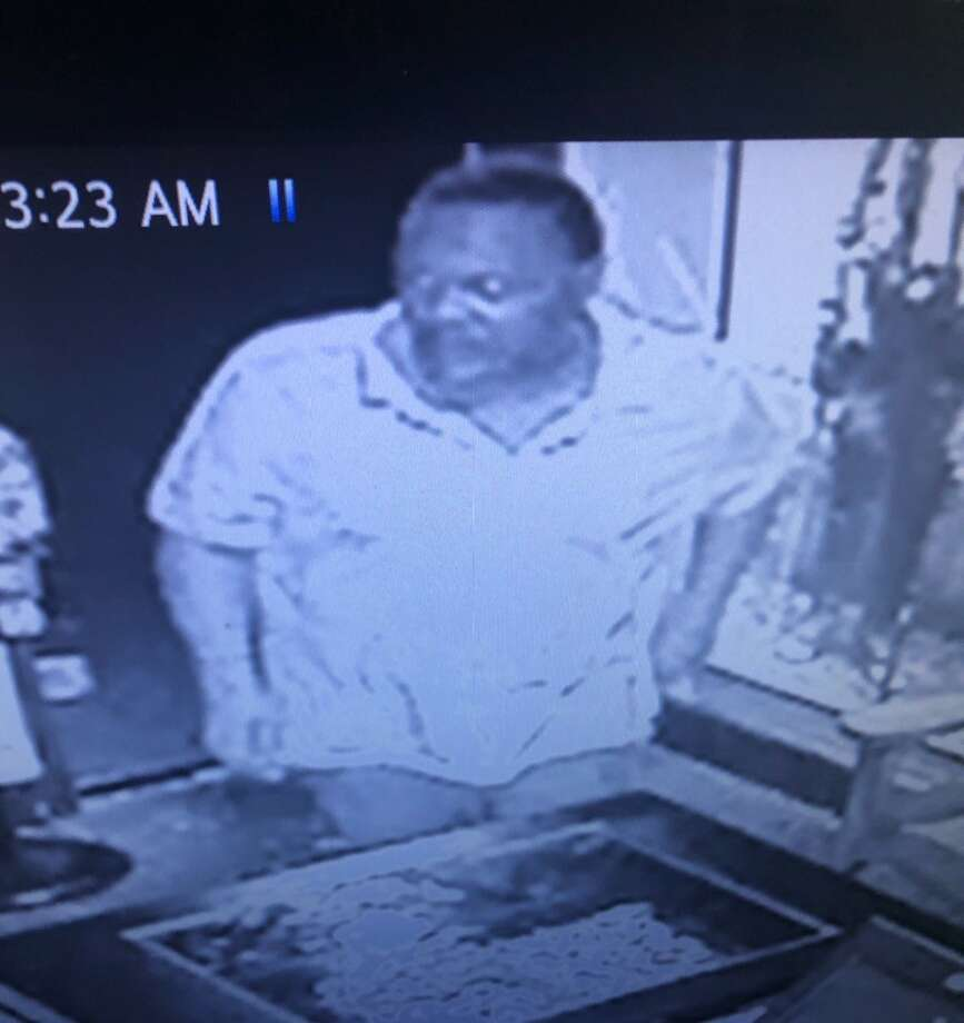 A man broke into La Bodega, 2700 block of North Big Spring Street at about 12:40 a.m. Aug. 7. He entered by shattering the back door and stole the cash register. The suspect is a middle-aged black male with facial hair. He left the scene in a white minivan. Photo: Midland Crime Stoppers