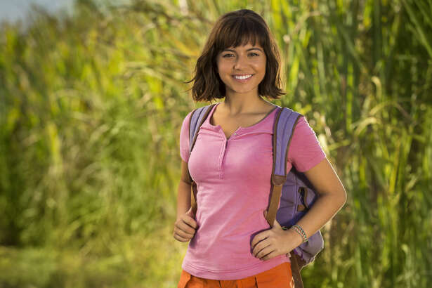 Isabela Moner stars as Dora the Explorer in the live-action version of the Nickelodeon children's series
