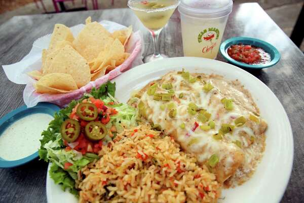 Chuy's Tex-Mex restaurants will mark the 2018 Hatch chile season with dishes that include Chicken Velvet Enchiladas made with green chile.