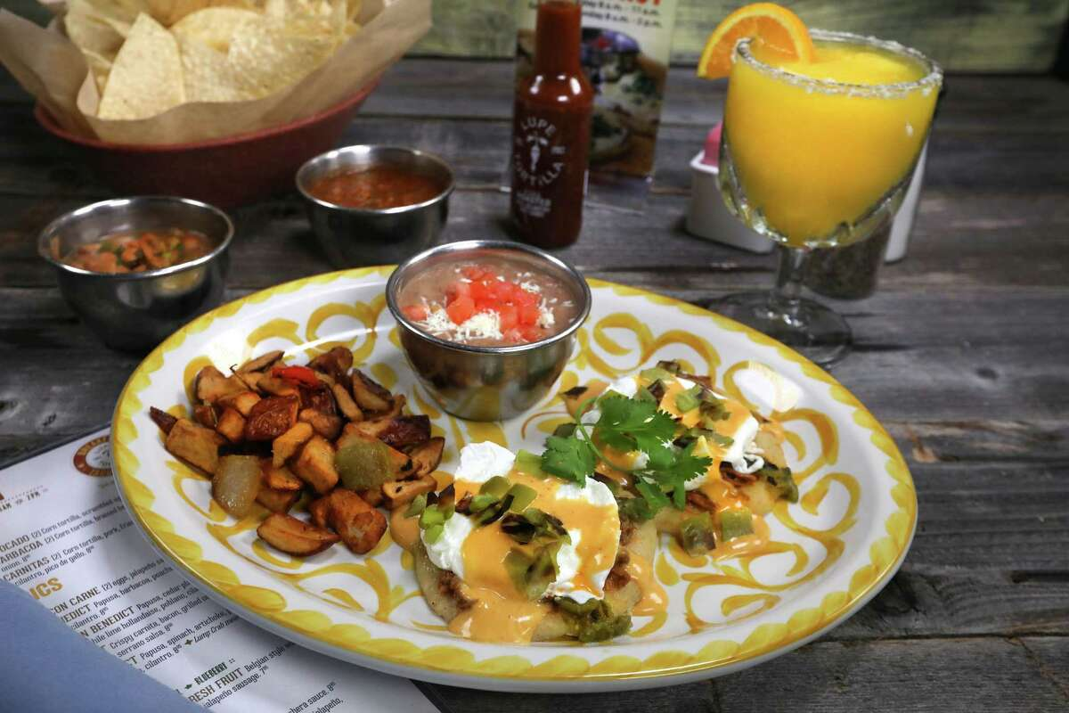 Lupe Tortilla restaurants will mark the 2018 Hatch chile season with new dishes made with fire-roasted green chile, including Barbacoa and Hatch Benedict, a papusa based topped with barbacoa, poached egg, Hatch chile and a Hatch chile sauce hollandaise.