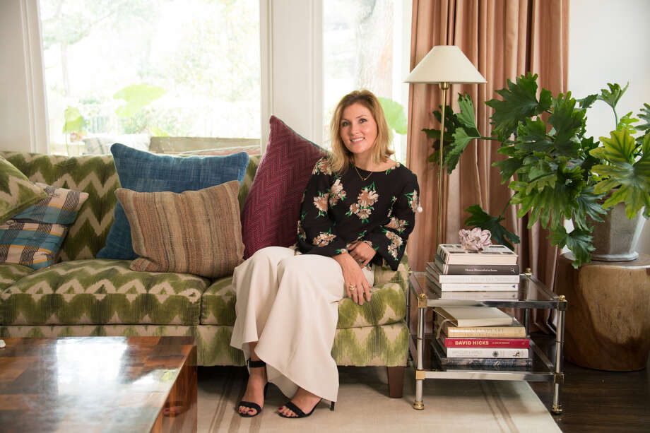 Meg Lonergan of Meg Lonergan Interiors will talk about ways to use bold colors in your home. Photo: Courtesy Photo