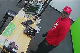 Fort Bend County Crime Stoppers is seeking the public's help in locating suspects involved in a robbery at Cricket Wireless in the 9400 block of Highway 6 about 8 p.m. Saturday, Aug. 11.