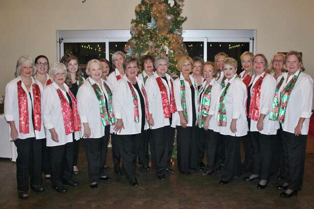 """Sugar Land Sound Chorus is looking for singers to join for the """"Christmas Elf"""" program.Elf practice will be 7-8p.m. Thursdays beginning Aug. 23. Sheet music and learning CDs are provided and not necessary to be able to read music, just carry a tune."""