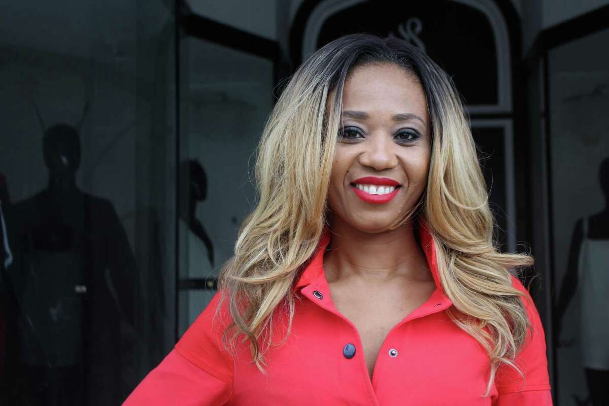 Agathe Likoba, founder of Likoba a designer jumpsuit line for women in Derby