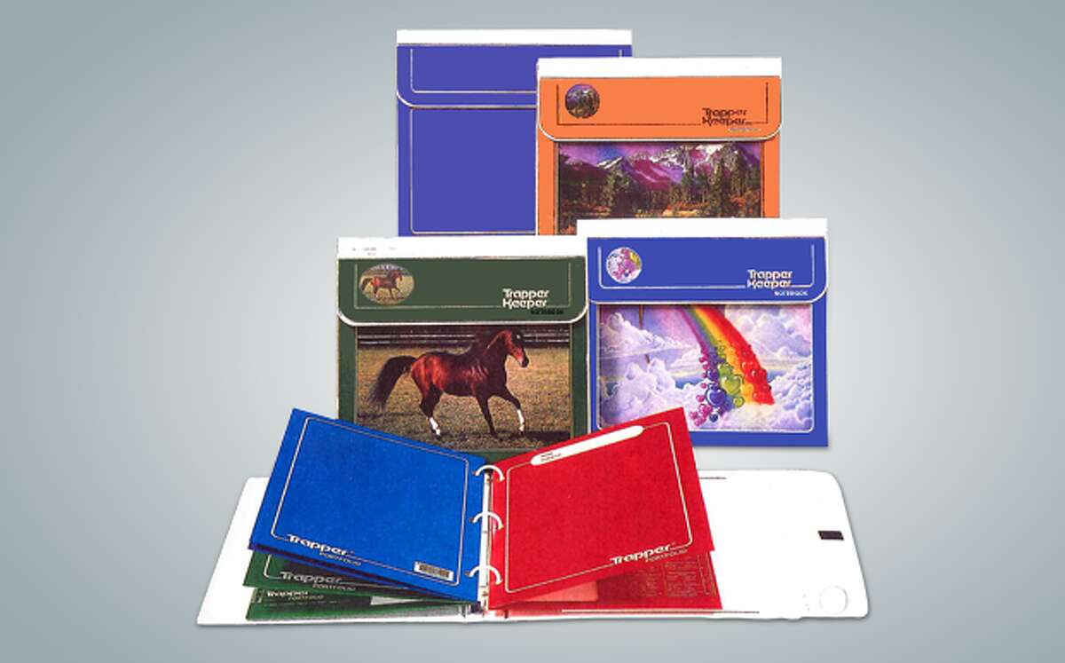 PHOTOS: Vintage back-to-school pictures Trapper Keepers have been a must-have item for schoolkids since they were introduced by the Mead company in 1978. The binders, known for their vivid artwork, seem to have retained a certain old-school cool for adults who grew up using them. >>>See what the first day of school looked like in decades past...