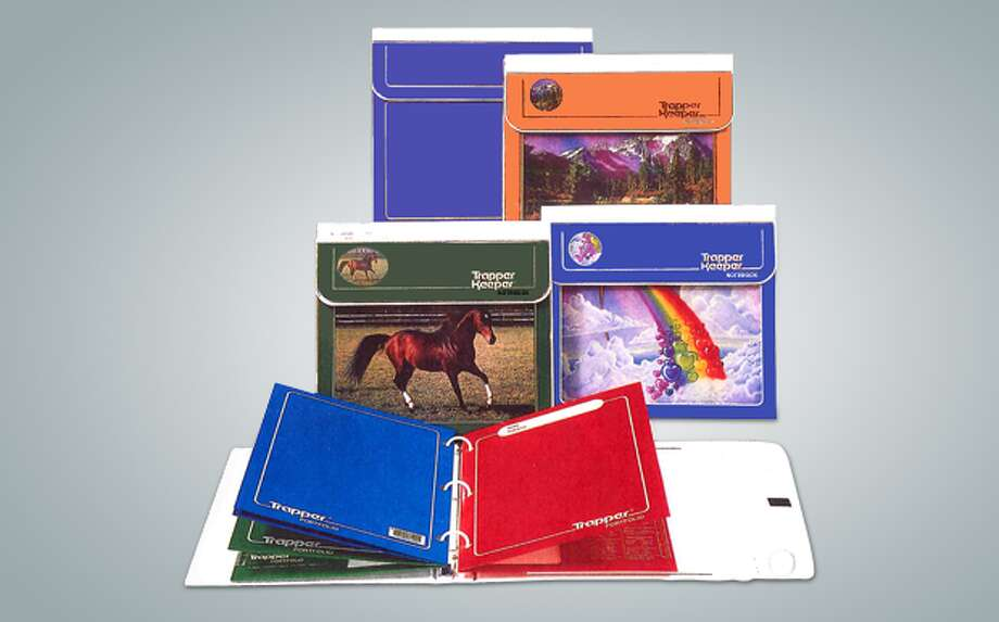 PHOTOS: Vintage back-to-school pictures Trapper Keepers have been a must-have item for schoolkids since they were introduced by the Mead company in 1978. The binders, known for their vivid artwork, seem to have retained a certain old-school cool for adults who grew up using them. >>>See what the first day of school looked like in decades past... Photo: ACCO Brands