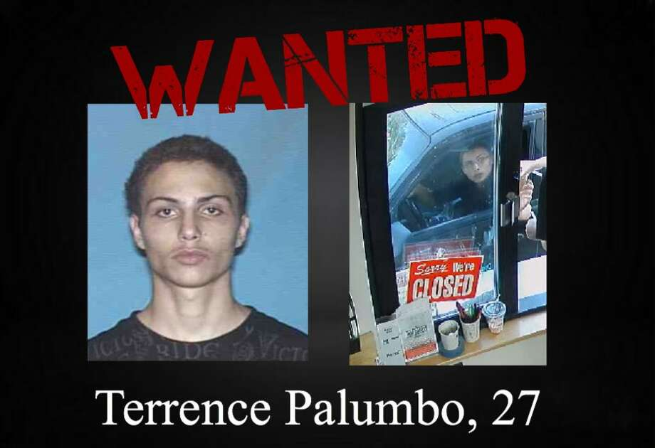 Terrence Palumbo, 27, is wanted on three counts of indecent exposure. Photo: San Antonio Police Department