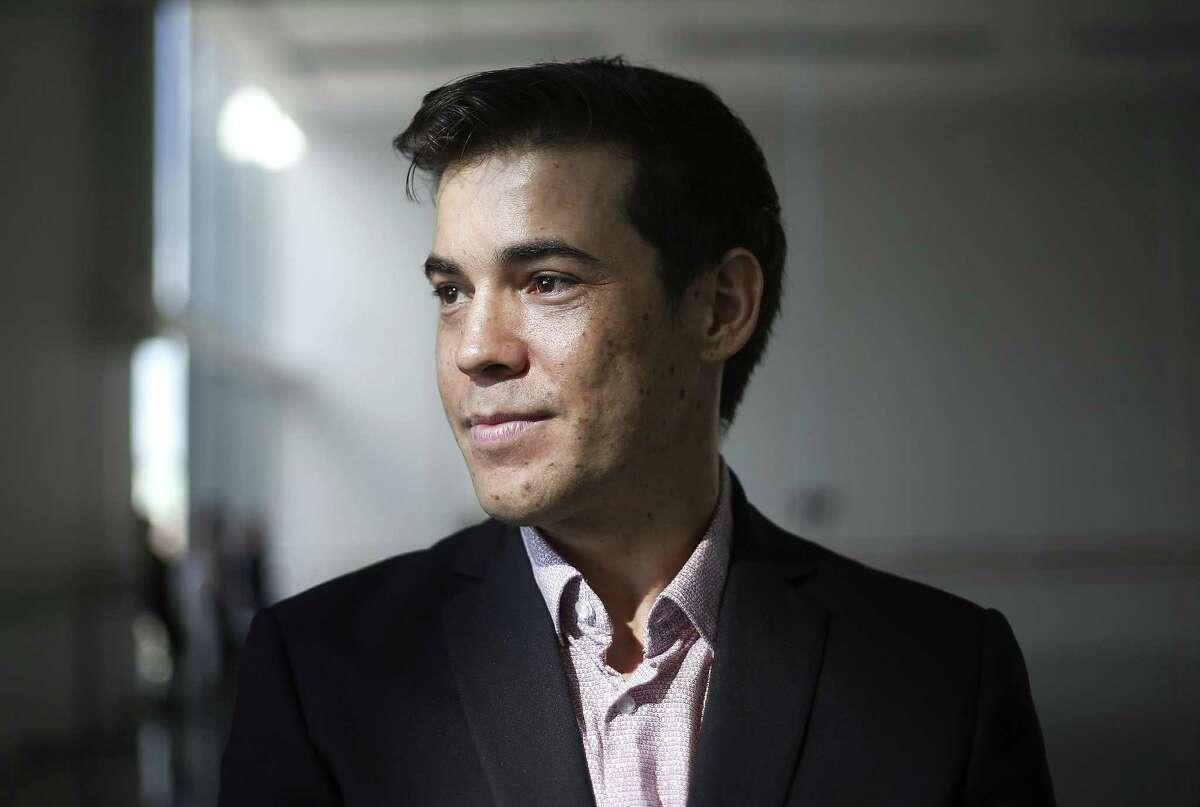 Houston Ballet Company's new principal dancer, Carlos Quenedit.