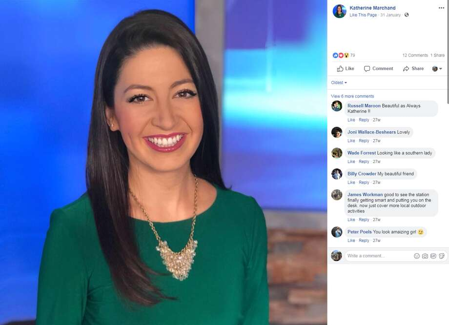 Katherine Marchand, a three-year reporter with a WTVC Chattanooga, will soon be joining Houston's ABC 13.  >>> See other recent changes withHouston TV anchors and reporters. Photo: Facebook.com/KatherineNC9