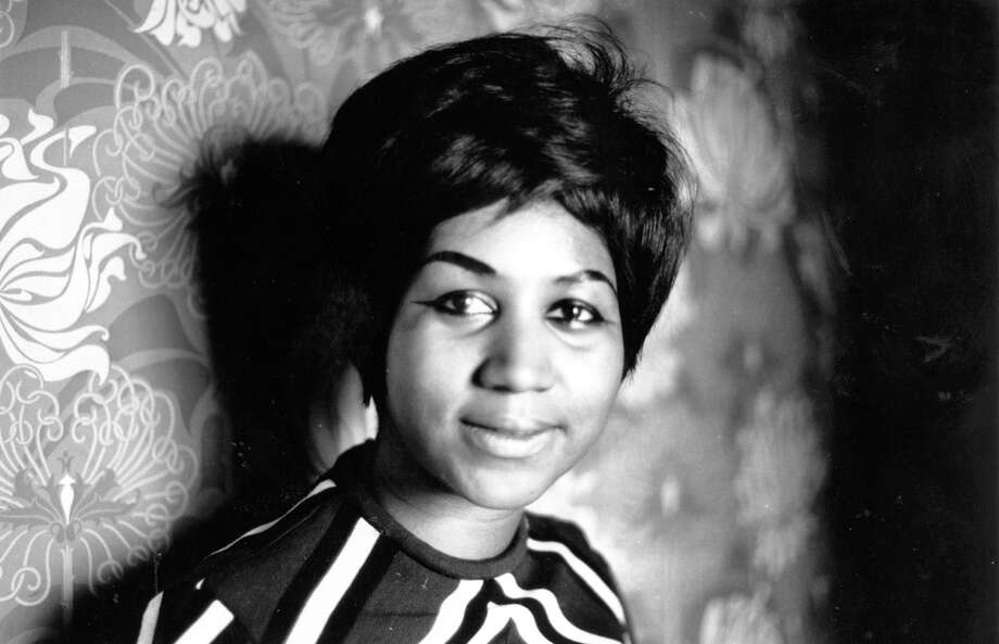 American soul singer Aretha Franklin, a star on the Atlantic record label. Photo: Express Newspapers/Getty Images / This content is subject to copyright.