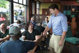 Ohio Democratic congressional candidate Danny O'Connor, visiting voters after a special election last week, lost narrowly - a harbinger of loss of the U.S. House for Republicans. This has to happen.
