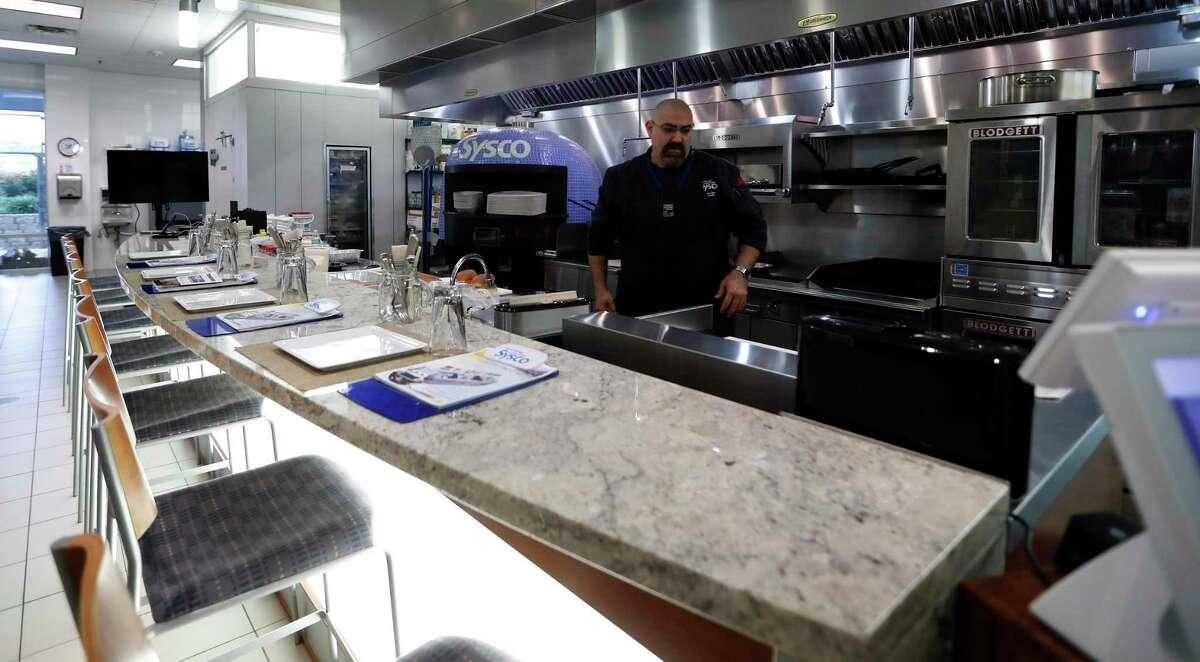 The test kitchen at Sysco Houston at 10710 Greens Crossing Blvd., Monday, June 25, 2018, in Houston. ( Karen Warren / Houston Chronicle )