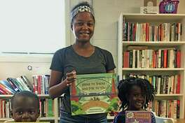 Charnae Gordon of Middletown has a blog, Here Wee Read, where she reviews new children's books. She and her children have begun a kids' community service project, 50 States 50 Books. Last week they donated the first set of 50 diverse books to New Haven Reads in New Haven. Her goal is to donate at least 50 new books to 50 deserving or underprivileged kids, schools, libraries or organizations in each of the 50 US states by December 2020
