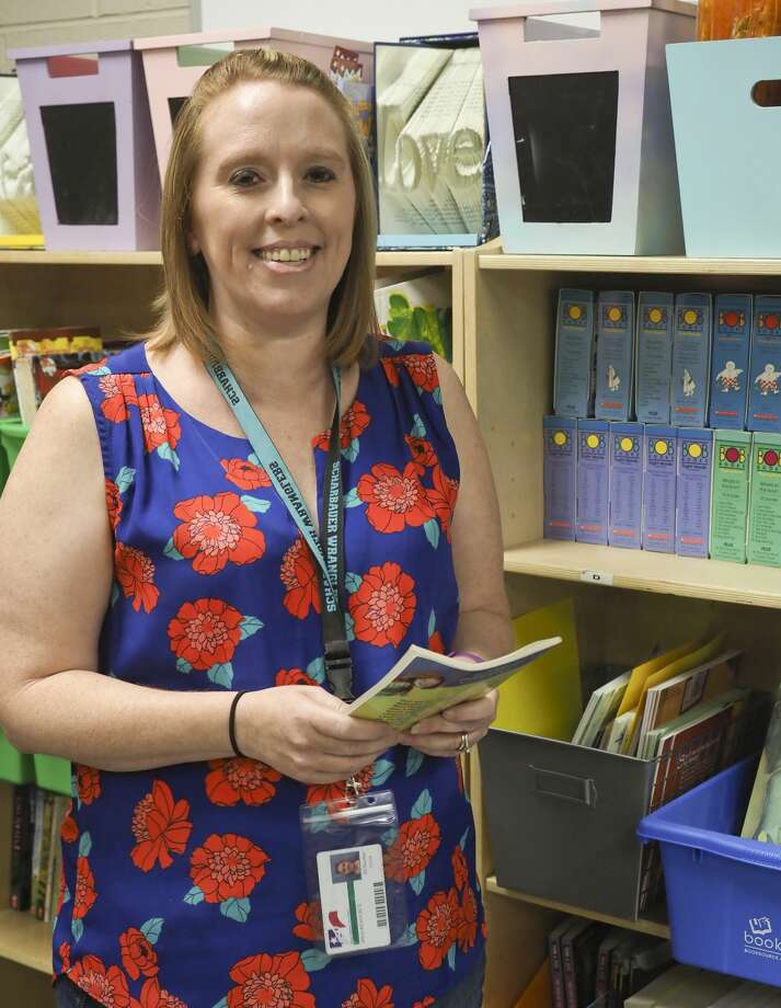 Lisa Zoler, resource teacher at Scharbauer Elementary. 08/10/18  Tim Fischer/Reporter-Telegram Photo: Tim Fischer/Midland Reporter-Telegram