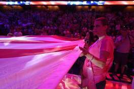 The Connecticut Sun honored breast cancer survivors and promoted breast cancer awareness during Sunday's game.