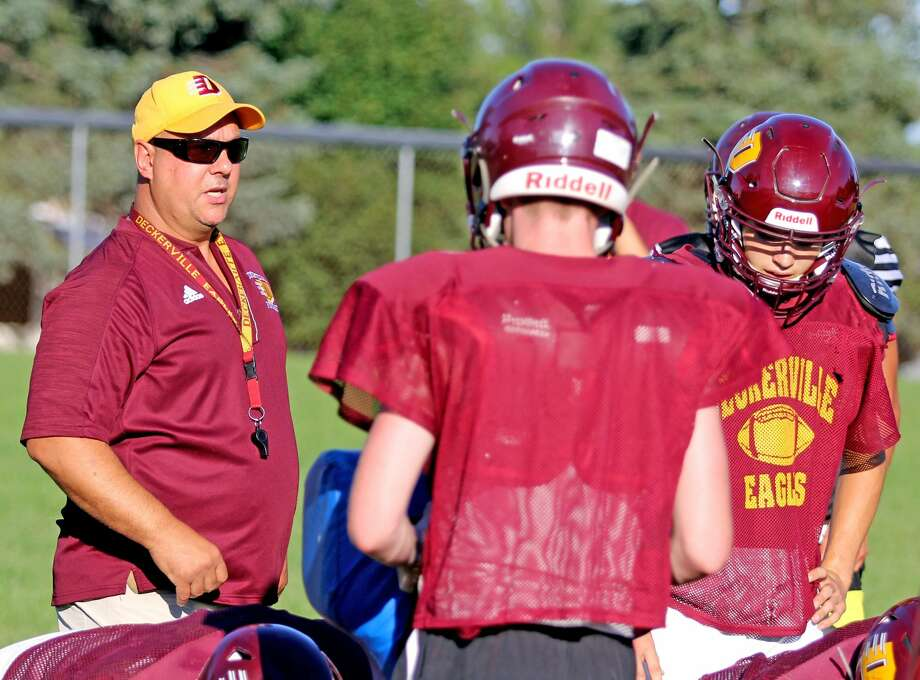 Deckerville Football Practice 2018 Photo: Mike Gallagher/Huron Daily Tribune
