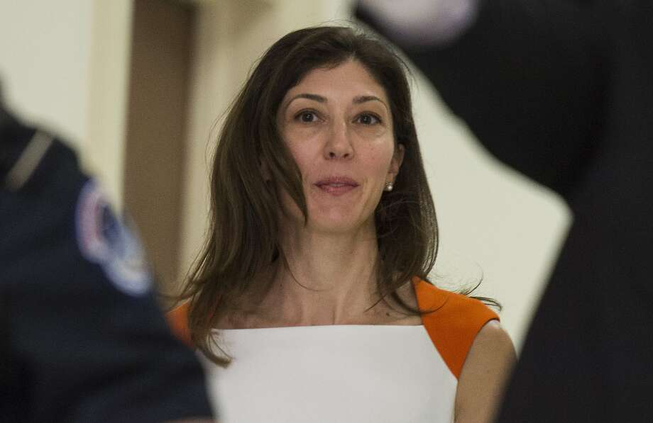 Lisa Page, former legal counsel to former FBI Director Andrew Mc Cabe, arrives on Capitol Hill July 16, 2018 arrives to speak before the House Judiciary and Oversight Committee on Capitol Hill in Washington, DC. Photo: ANDREW CABALLERO-REYNOLDS, AFP/Getty Images
