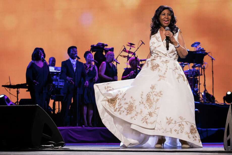 "FILE- In this April 19, 2017 file photo, Aretha Franklin performs at the world premiere of ""Clive Davis: The Soundtrack of Our Lives"" at Radio City Music Hall, during the 2017 Tribeca Film Festival, in New York. Franklin is seriously ill, according to a person close to the singer. The person, who spoke on the condition of anonymity because the person was not allowed to publicly talk about the topic, told The Associated Press on Monday, Aug. 13, 2018, that Franklin is seriously ill. No more details were provided. (Photo by Charles Sykes/Invision/AP, File) Photo: Charles Sykes / Invision"