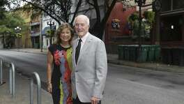 Bill and Tina Lyons own the restaurants Casa Rio and Schilo's near Losoya and Commerce streets in downtown San Antonio. They also own property on Losoya occupied by other businesses. Bill Lyons said he is concerned that possible changes to Losoya, including the addition of a northbound lane, would make the problem of deliveries to businesses there even worse.