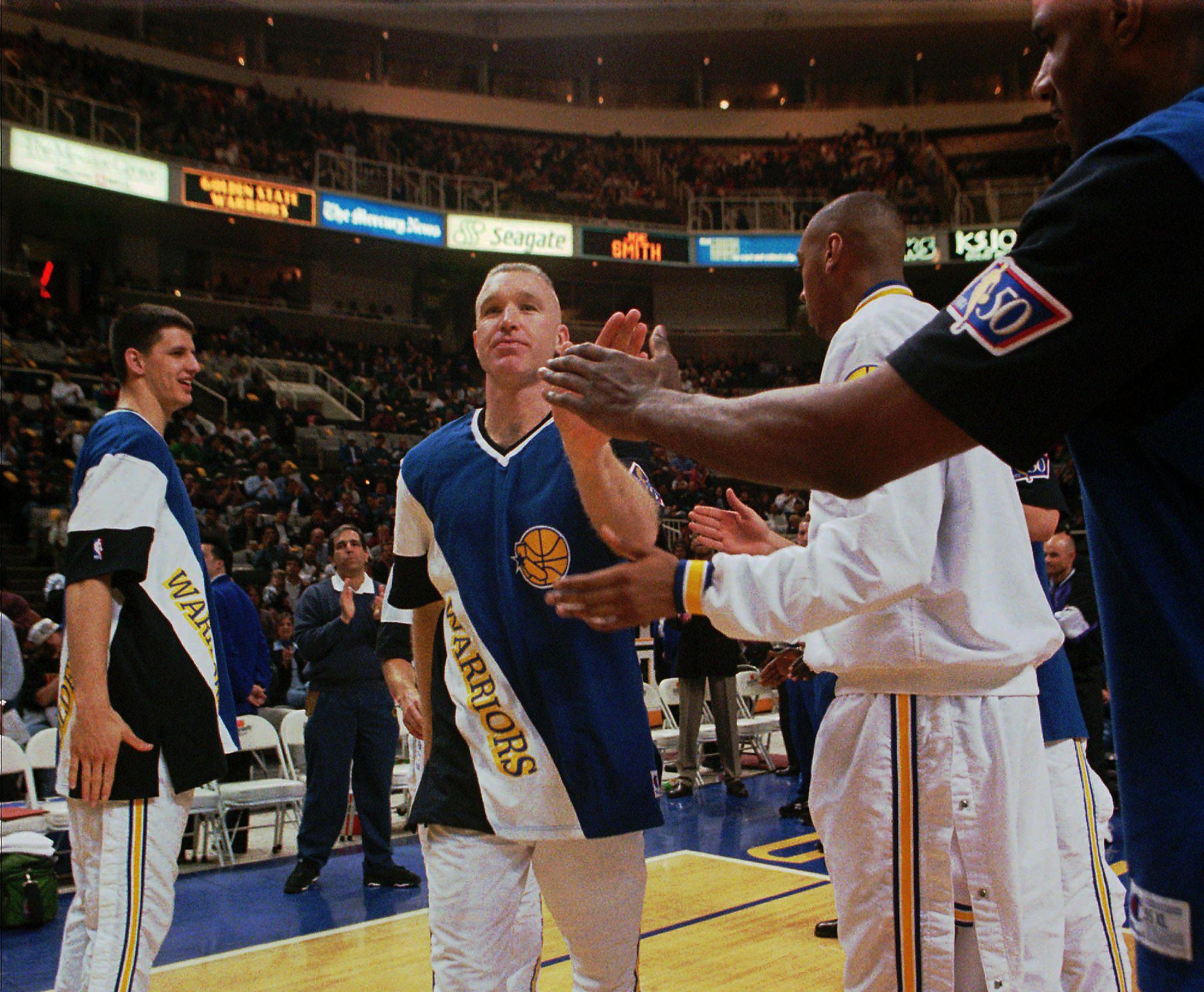 Warriors' lean seasons in the 1980s and 1990s were still