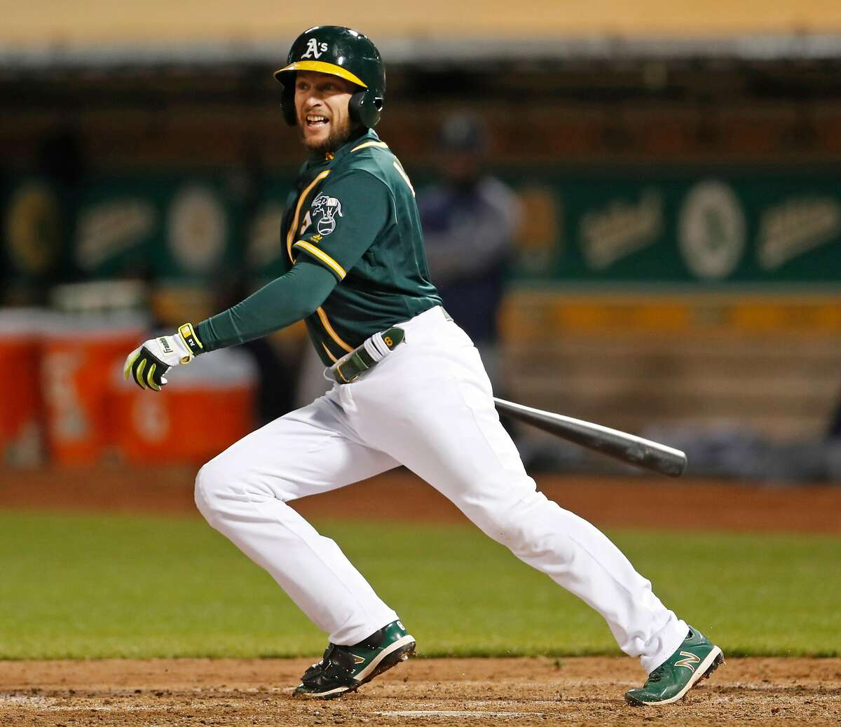 They lost Jed Lowrie Jed Lowrie, you may be thinking. Really? The diminutive infielder logged 157 games for the A's last year, compiling 4.9 Fangraphs Wins Above Replacement (or WAR) in the process. Only two second basemen were better last year, per Fangraphs. A free agent, Lowrie penned a two-year, $20 million deal with the Mets over the offseason. The A's traded for Jurickson Profar to replace Lowrie. Profar, a former top prospect, finally broke through last year in his first-ever full season in the majors, posting a respectable .254/.335/.458 batting line in Texas. Profar is a nice player, but Lowrie was one of the best players in the American League last year. That type of production will be difficult to replace.