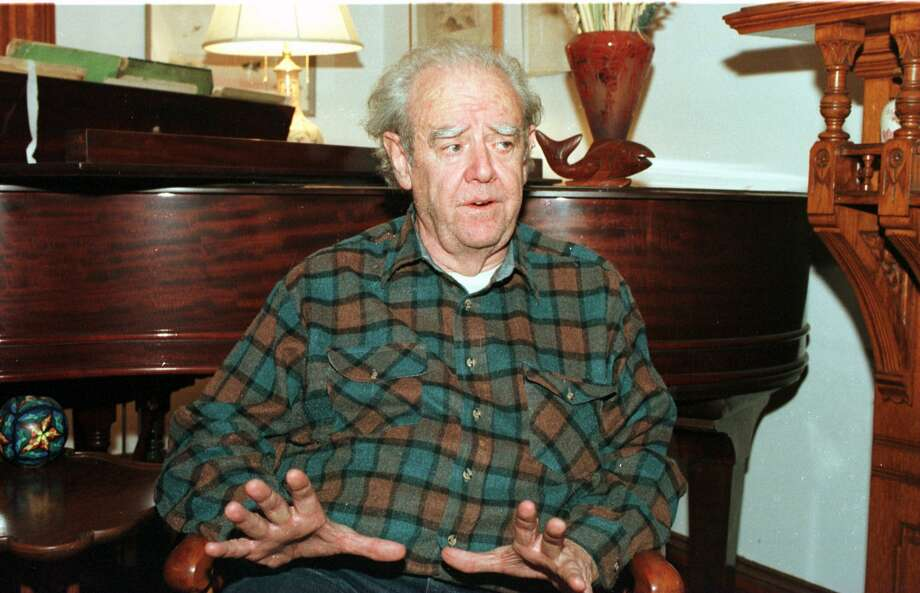 Harry Staley  in the living room of his State Street home in Albany, N.Y., on Nov. 15, 1995. (Times Union Archive) Photo: TOM LAPOINT / ALBANY TIMES UNION