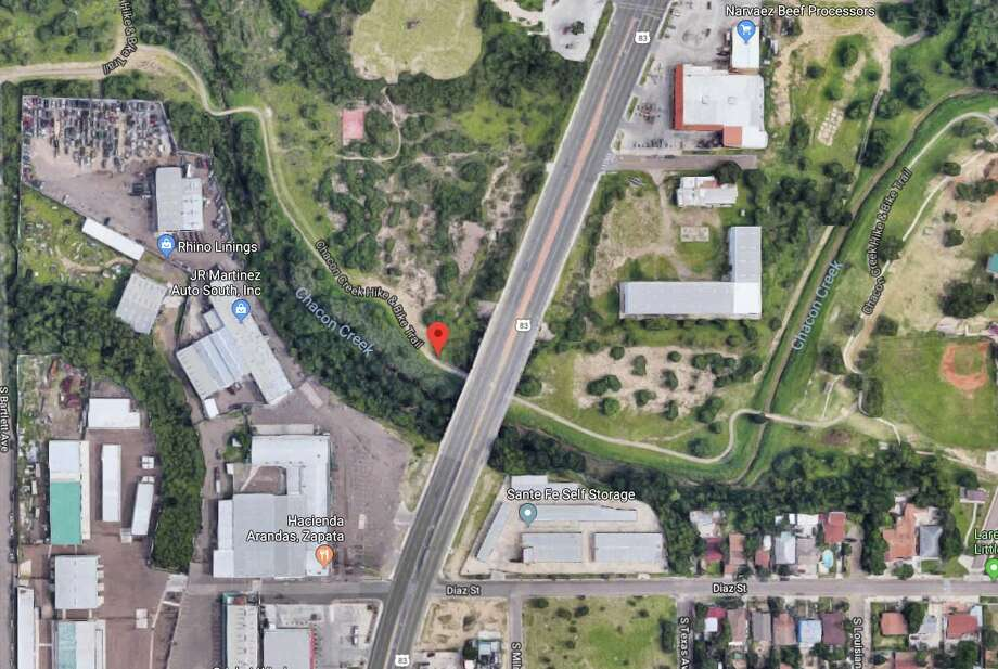 Authorities said the discovered a deceased man near Chacon Creek over the weekend. Photo: Google Maps