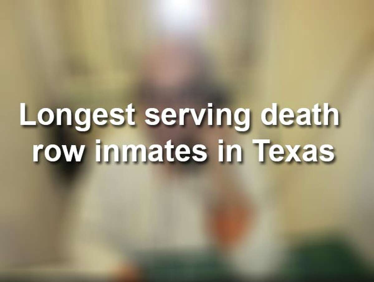 Keep scrolling to see the individuals in Texas who have served the most lengthy death row sentences.