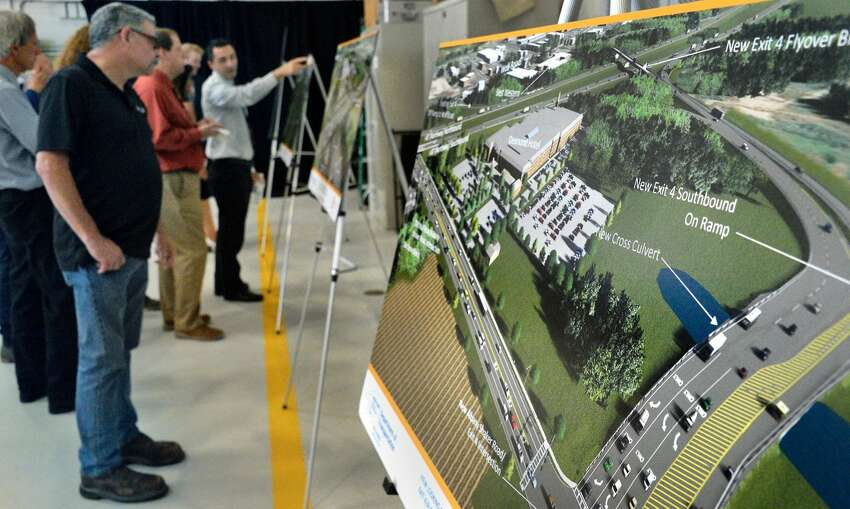 Empire State Development President and CEO Howard Zemsky announces a $72 million project to connect the Northway to Albany International Airport at Exit 4.
