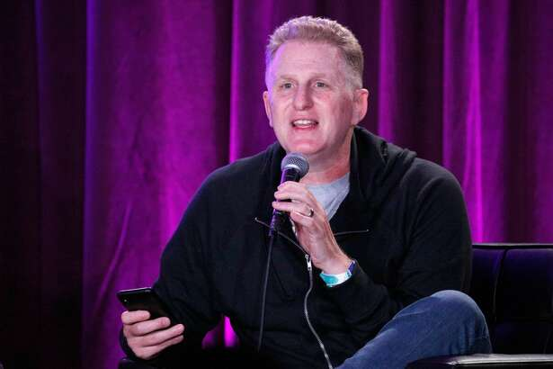 Michael Rapaport performs onstage during 'I Am Rapaport: Stereo Podcast' in the Room 415 Comedy Club during Clusterfest at Civic Center Plaza and The Bill Graham Civic Auditorium on June 3, 2018 in San Francisco, California.