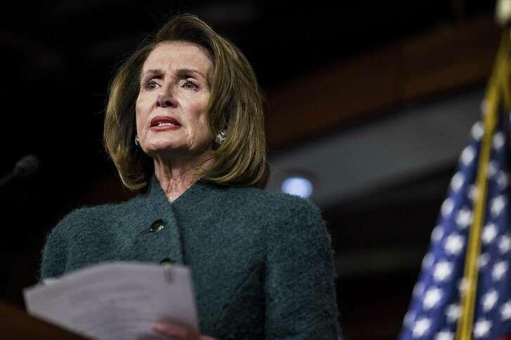 House Minority Leader Nancy Pelosi, a Democrat from California.