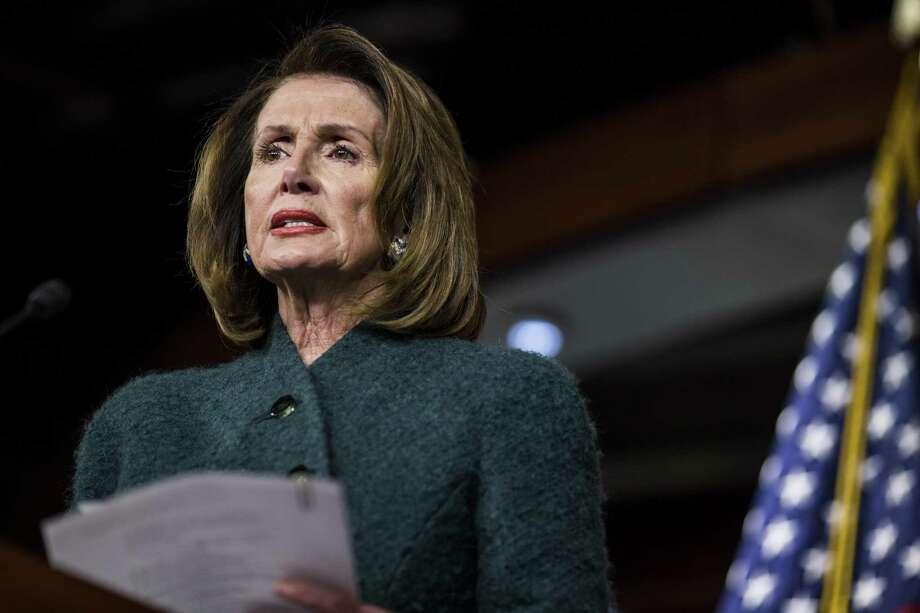 House Minority Leader Nancy Pelosi, a Democrat from California. Photo: Zach Gibson / Bloomberg / © 2018 Bloomberg Finance LP