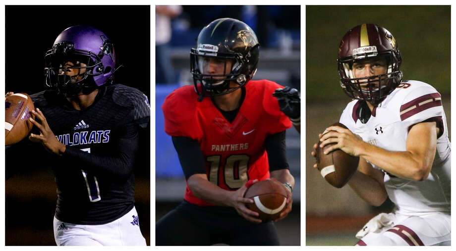 Willis' Jermichael Dickerson, Caney Creek's Julian Hernandez and Magnolia West's John Matocha will be key players for their respective teams this season. Photo: Staff Photos