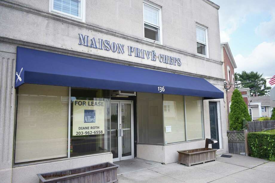 Maison Prive Catering has exited its commercial kitchen at 136 Hamilton Ave. Photo: Alexander Soule / Hearst Connecticut Media / Stamford Advocate