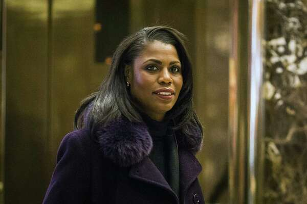 Omarosa Manigault at Trump Tower in New York on Dec. 13, 2016.