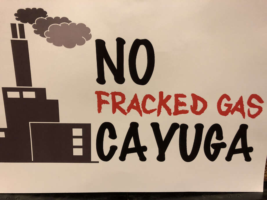 Opponents of a gas plant proposed near Cayuga Lake are urging Gov. Andrew Cuomo to kill the project. Photo: Provided Photo