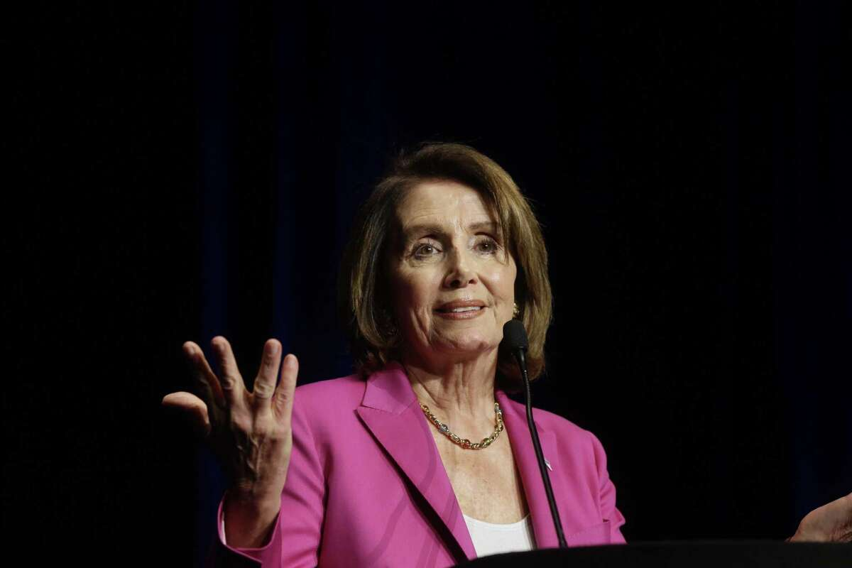 PHOTOS: Pelosi coming to Houston House Minority Leader Nancy Pelosi will be in Houston Wednesday. She was last in town, above, in February for a Democratic fundraiser. >>See who the House minority leader is coming to help this time ...