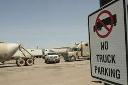 The City of Midland will be enforcing private parking ordinance like the no truck parking in the southside Walmart parking lot. 08/14/18 Tim Fischer/Reporter-Telegram