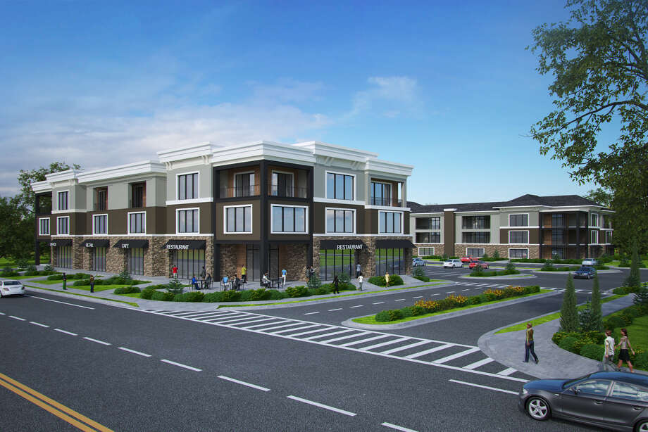 Entrance to proposed 300-unit development at 580 Columbia Turnpike in East Greenbush, N.Y. Photo: Town Of East Greenbush