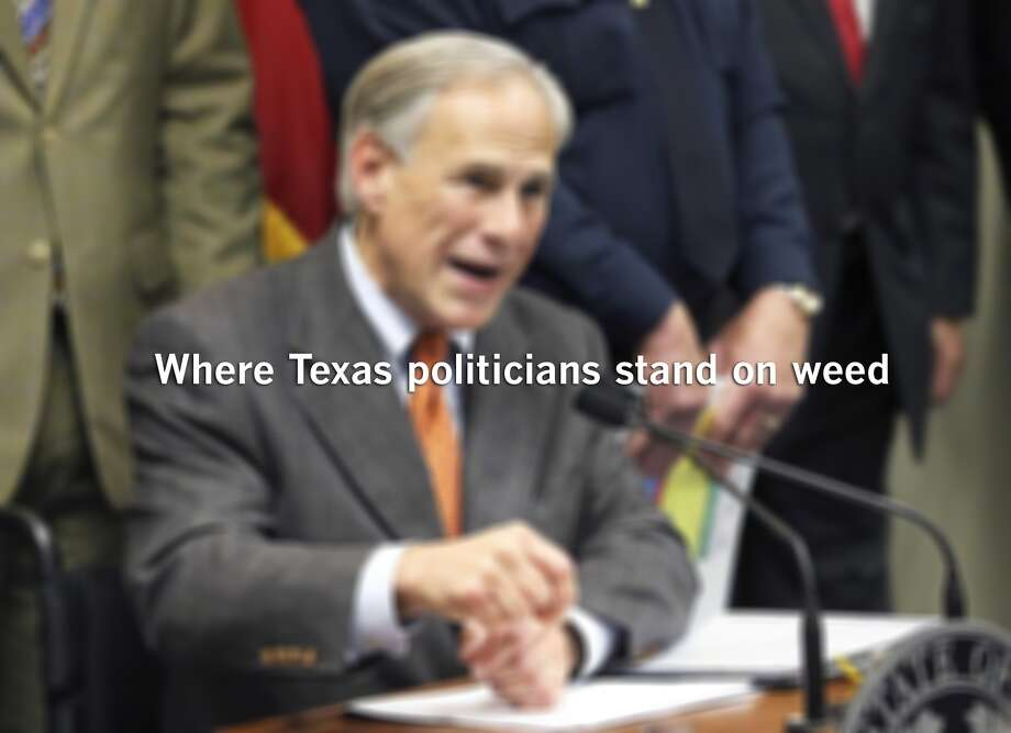 Where Texas politicians stand on weed. Photo: Tom Reel, Staff / San Antonio Express-News