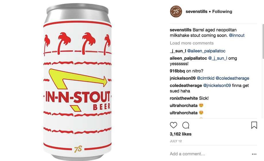 Seven Stills received a cease and desist over their In-N-Stout beer. Photo: Seven Stills / Instagram
