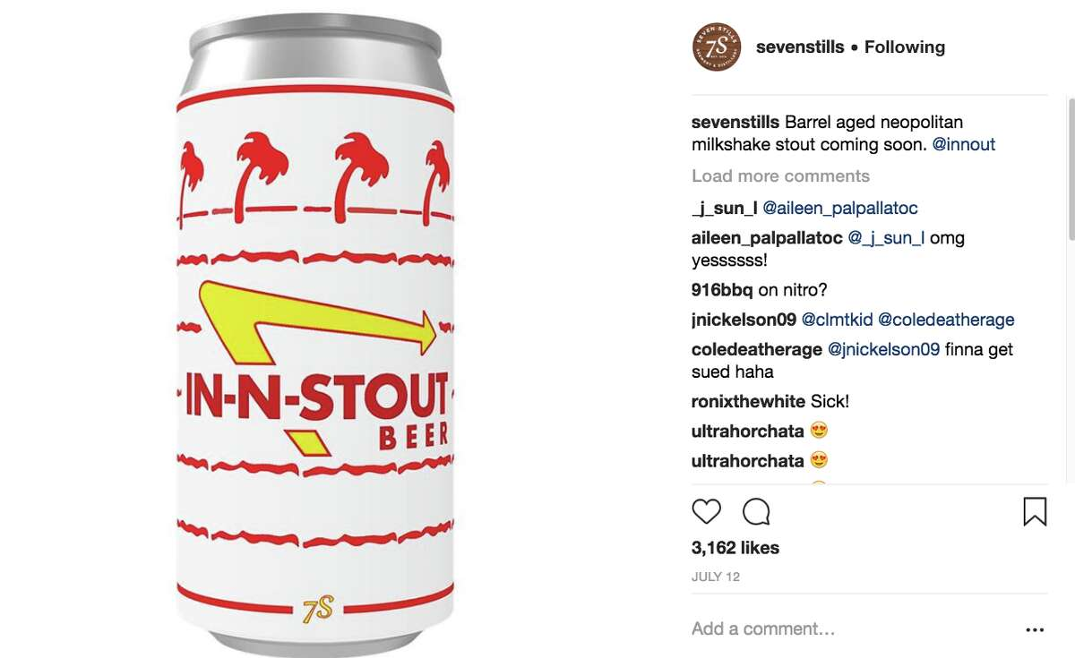 Seven Stills received a cease and desist over their In-N-Stout beer.