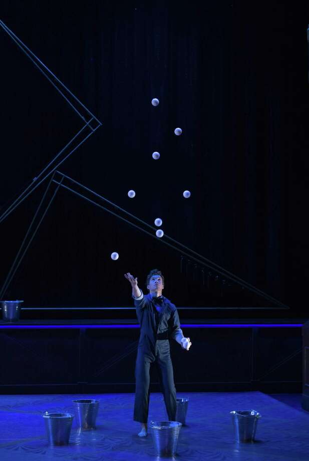 """A juggler in Cirque Eloize """"Hotel"""" at Foxwoods Aug. 22-Sept. 2. Photo: Carol Rosegg / Contributed Photo"""