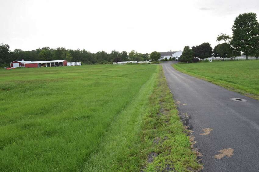 Farmland along Goode St. on Tuesday, Aug. 14, 2018 in Ballston N.Y. It appears that the Ballston Town Board will now allow development in the protected AG district. (Lori Van Buren/Times Union)