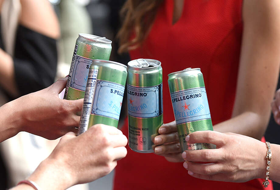 S.Pellegrino Sparkling Natural Mineral Water will now be available in 330 ml (11 oz) cans. Photo: Westfair Communications