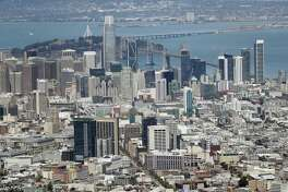 """A reader suggest that policies being considered might make San Antonio change its name to """"San Frantonio."""" The San Francisco skyline is seen last month."""