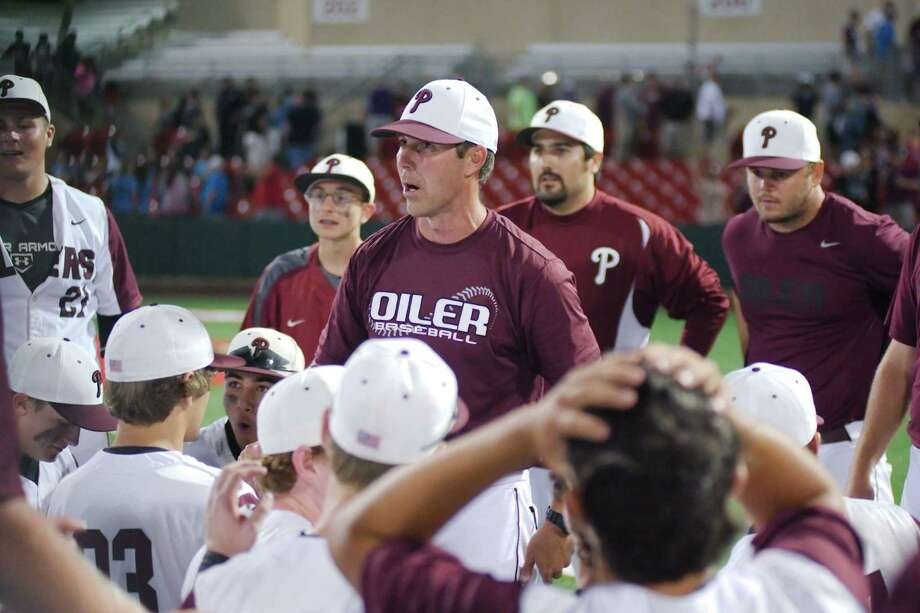Former Pearland head baseball coach Anthony Scalise, like much of the work force, is finding the sales business challenging during the current nationwide health scare. Photo: KIRK SIDES / Kirk Sides