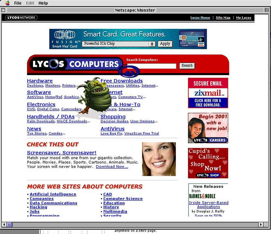 PHOTOS: Websites that still live on