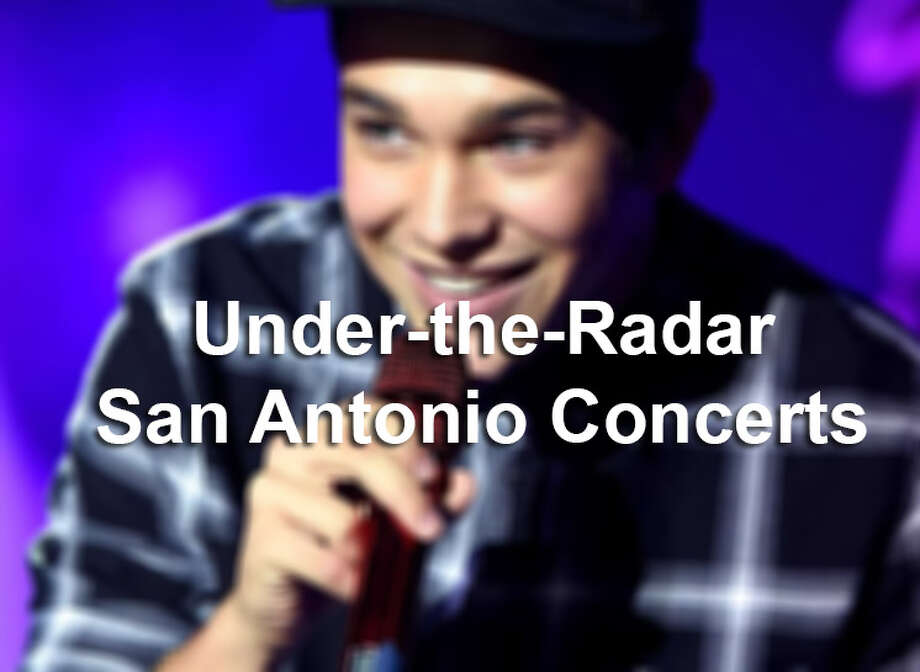 Upcoming under-the-radar San Antonio concerts. Photo: Contributed