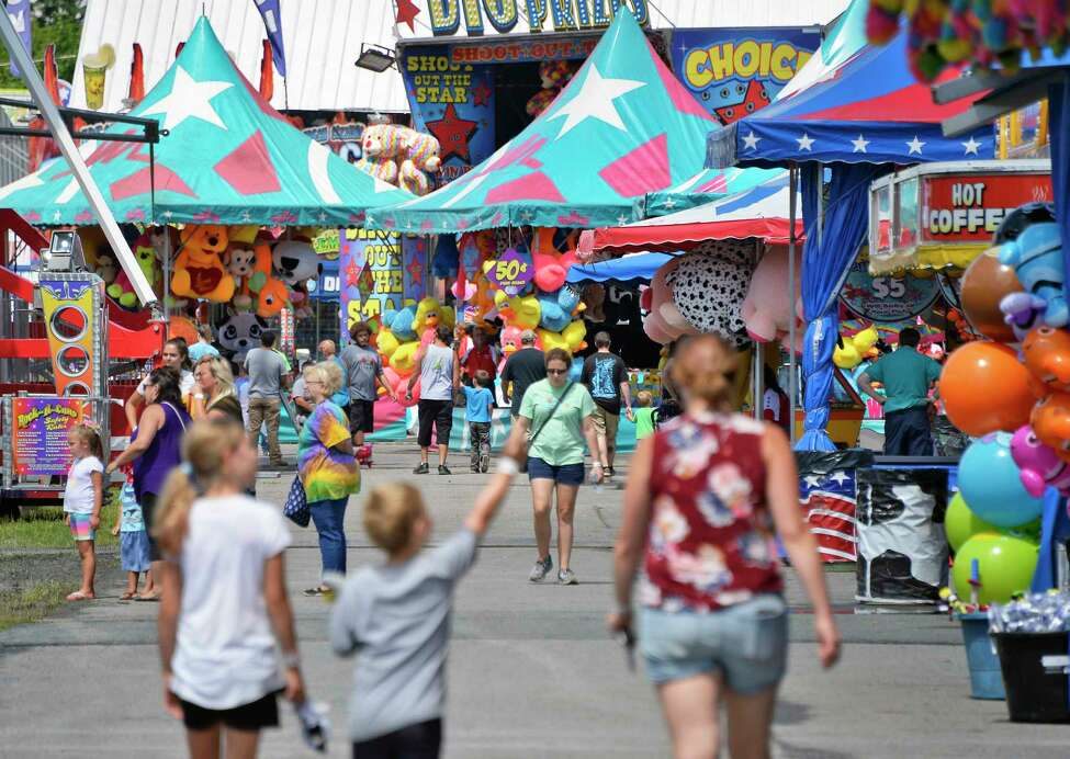 Rides! Midway! Cotton candy! Baby animals! The Altamont Fair runs through Sunday in Altamont. Details.